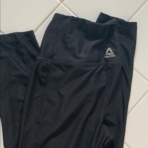 Reebok black super high waisted legging.